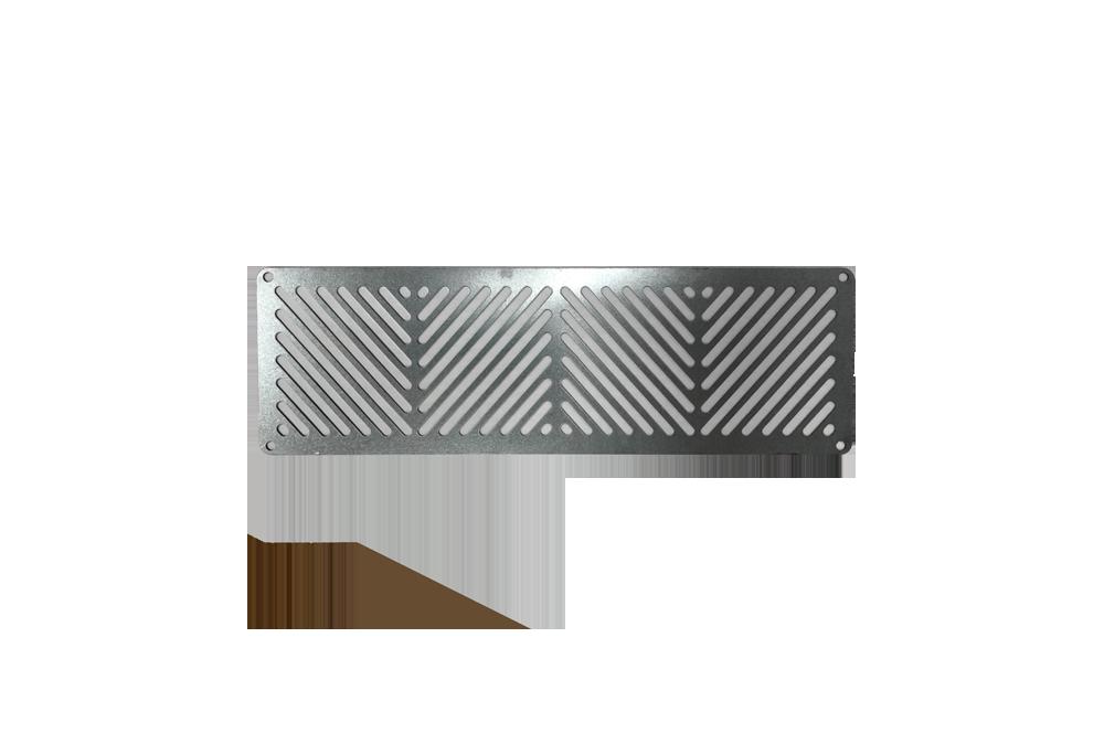 Galvanized steel outdoor kitchen vent