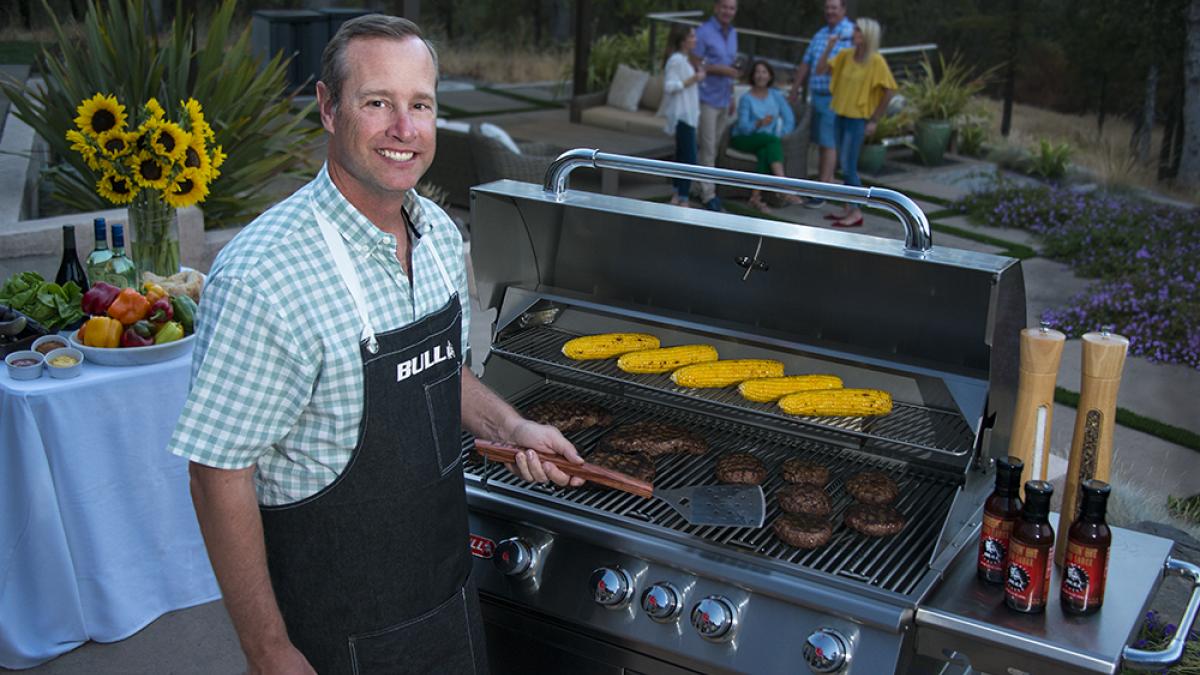 award winning outdoor stainless steel grill