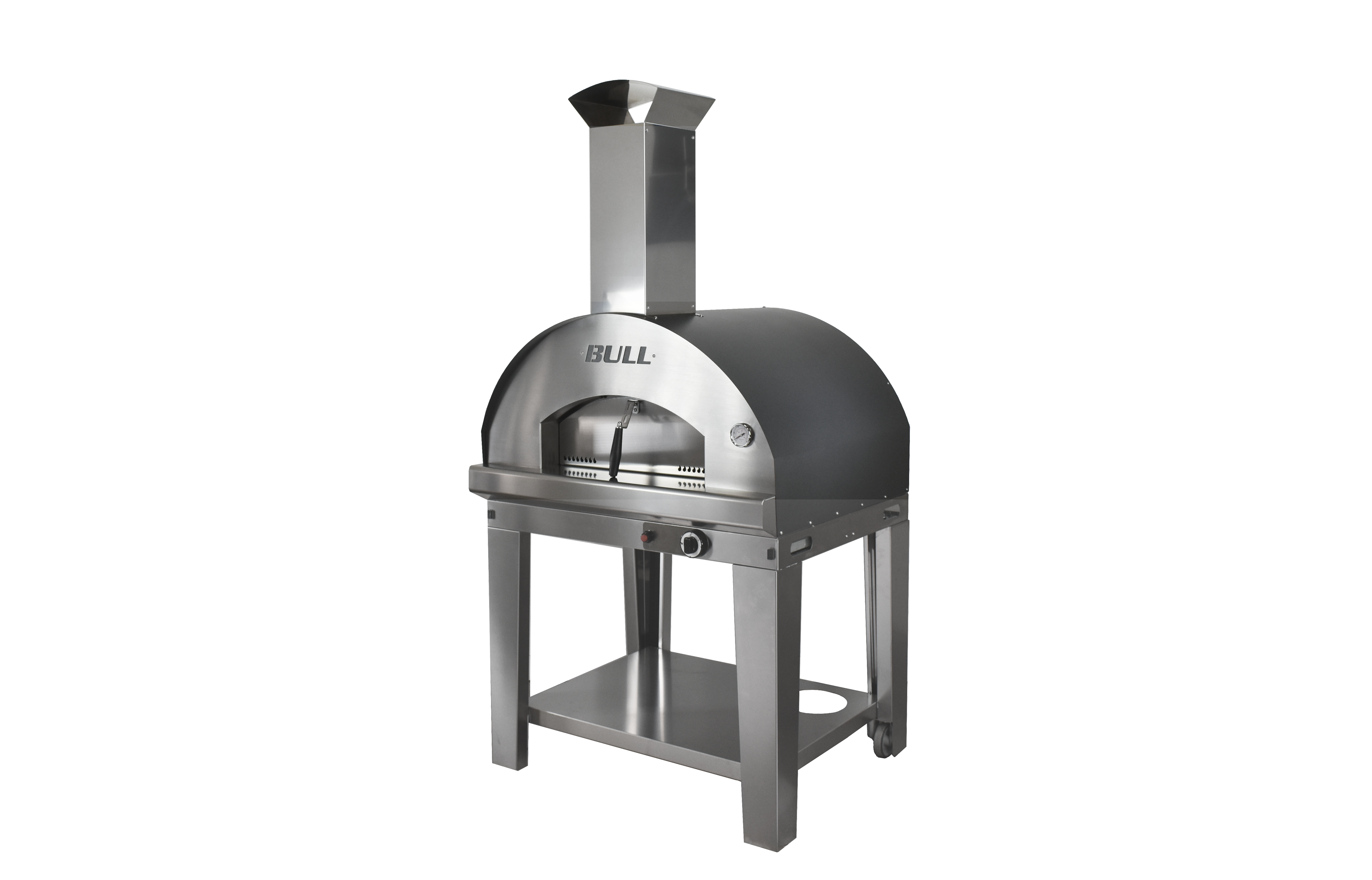 Gas Pizza Oven side NBG