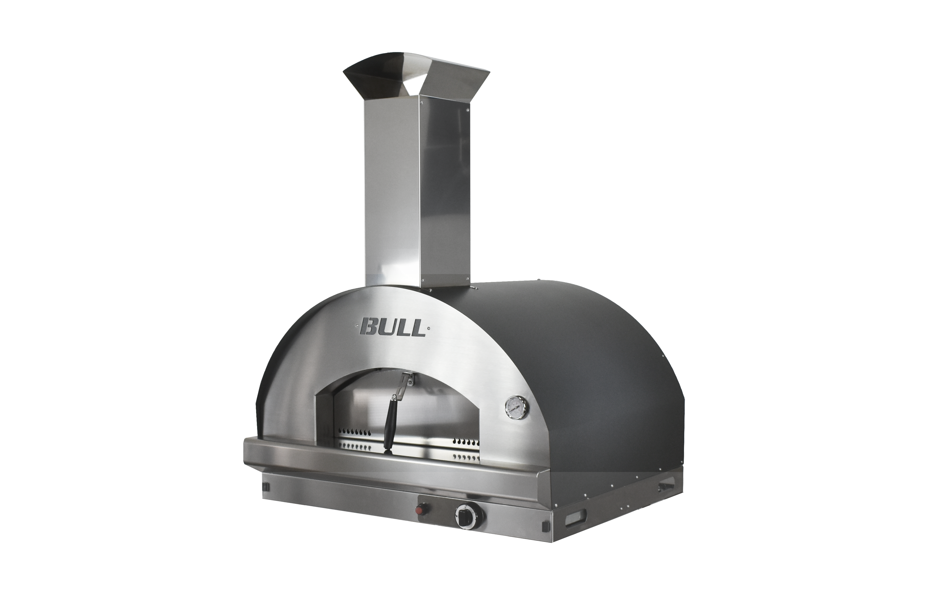 Gas Pizza Oven side head